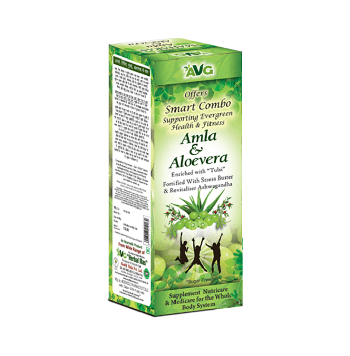 AVG Amla and Aloevera Mix  Juice