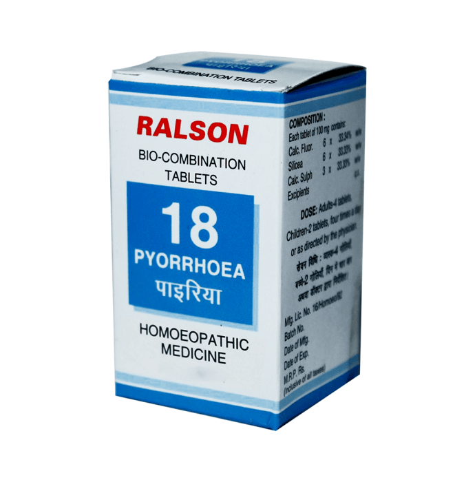 Ralson Bio-Combination 18 Tablet Pack of 2