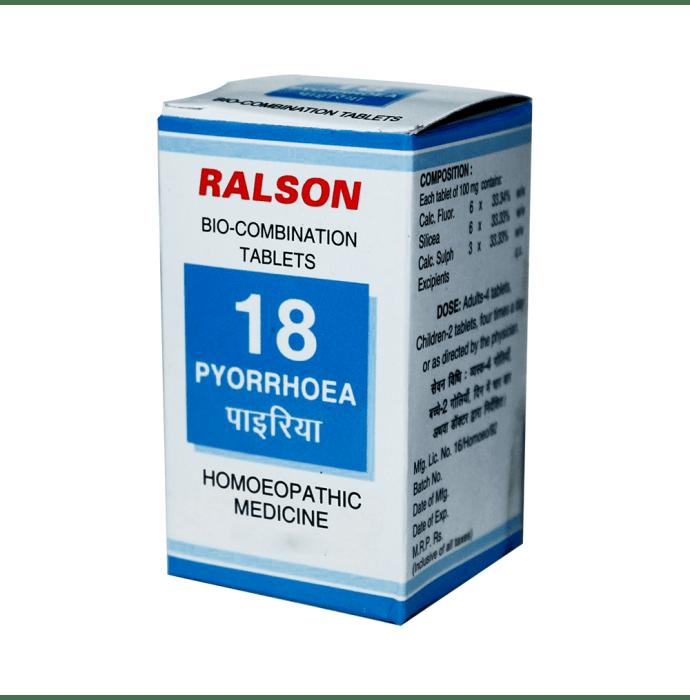 Ralson Bio-Combination 18 Tablet