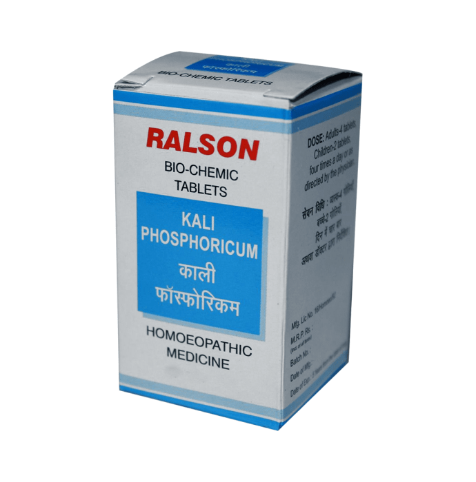 Ralson Kali Phosphoricum Biochemic Tablet 3X