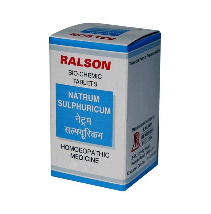 Ralson Natrum Sulphuricum Biochemic Tablet Pack of 2