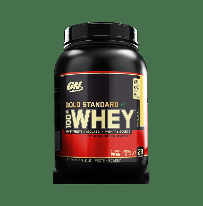 Optimum Nutrition (ON) Gold Standard 100% Whey Protein Powder Banana Cream