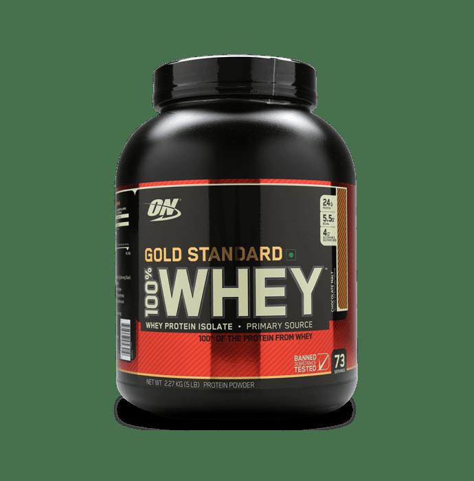 Optimum Nutrition (ON) Gold Standard 100% Whey Protein Powder Chocolate Malt