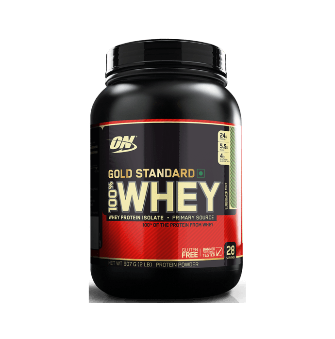 Optimum Nutrition (ON) Gold Standard 100% Whey Protein Powder Chocolate Mint