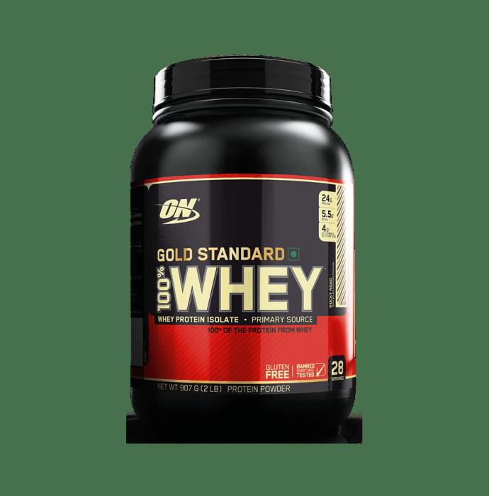 Optimum Nutrition (ON) Gold Standard 100% Whey Protein Powder Rocky Road