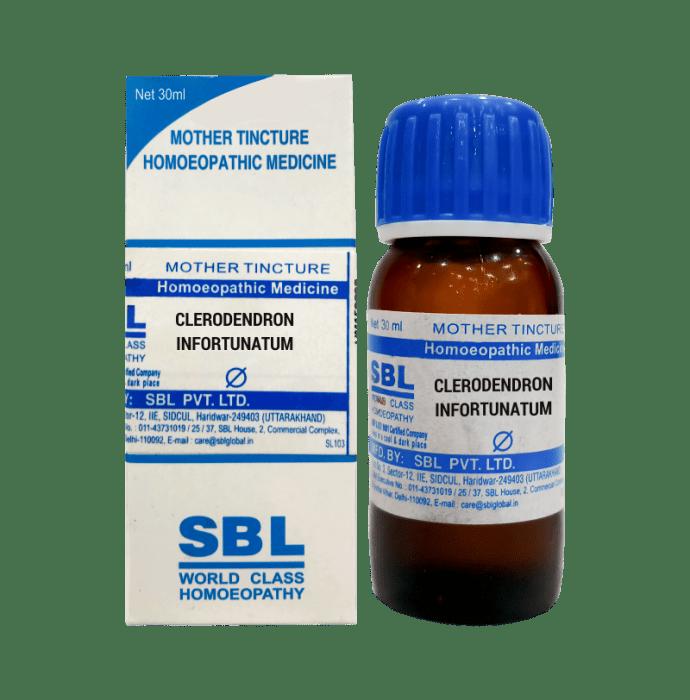 SBL Clerodendron Infortunatum Mother Tincture Q