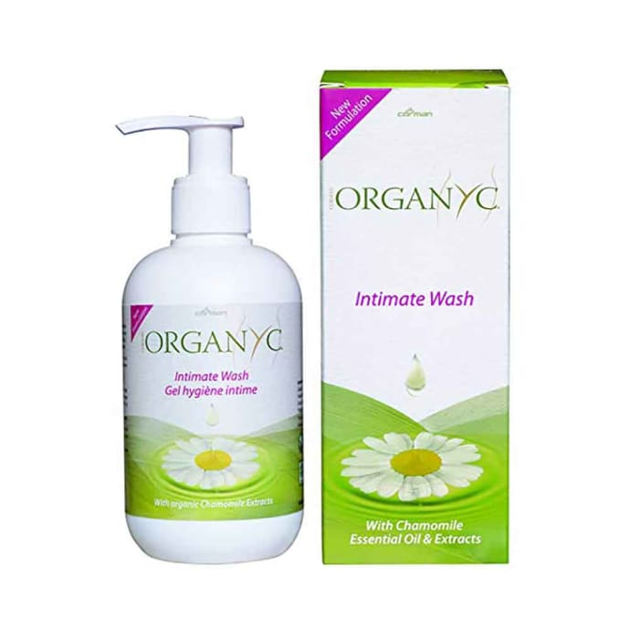Organyc Feminine Intimate Wash