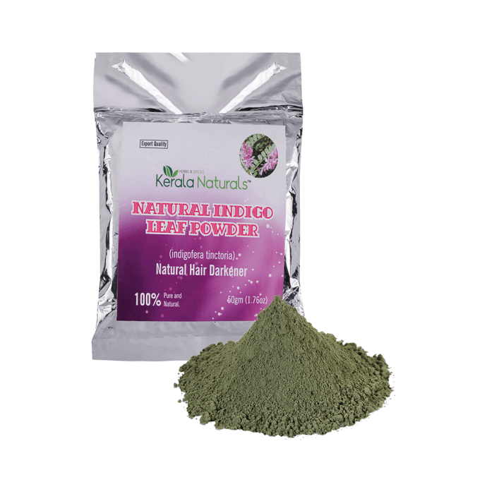 Kerala Naturals Indigo Leaf Powder