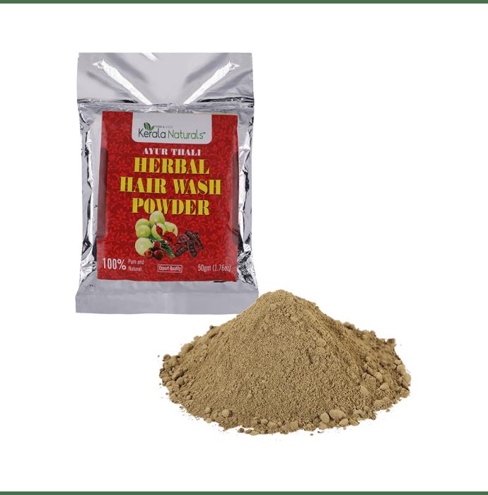 Kerala Naturals Ayur Thali Herbal Hair Wash Powder