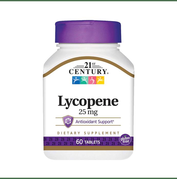 21st Century Lycopene 25mg Tablet