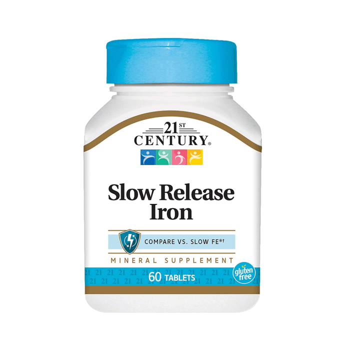 21st Century Slow Release Iron Tablet