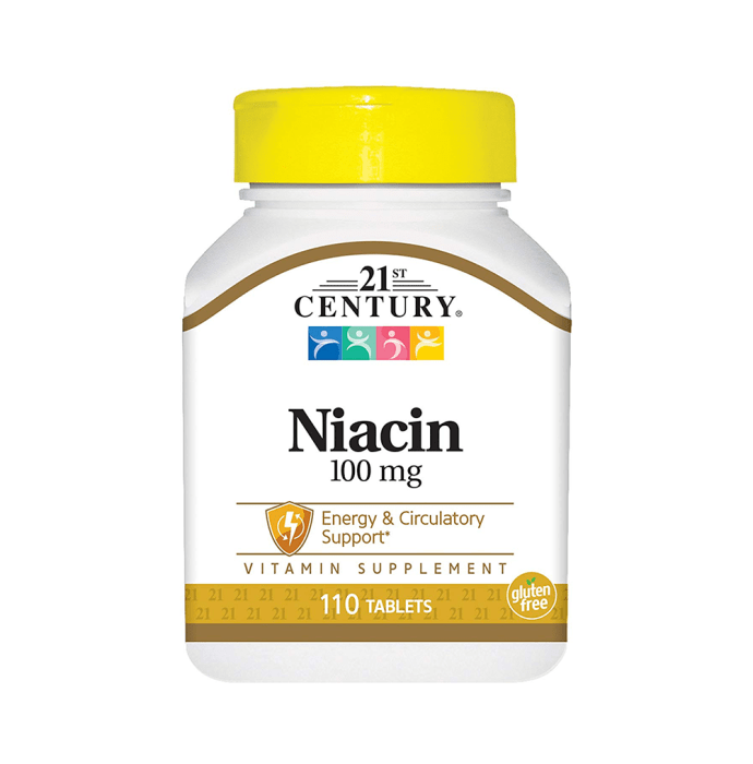 21st Century Niacin 100mg Tablet