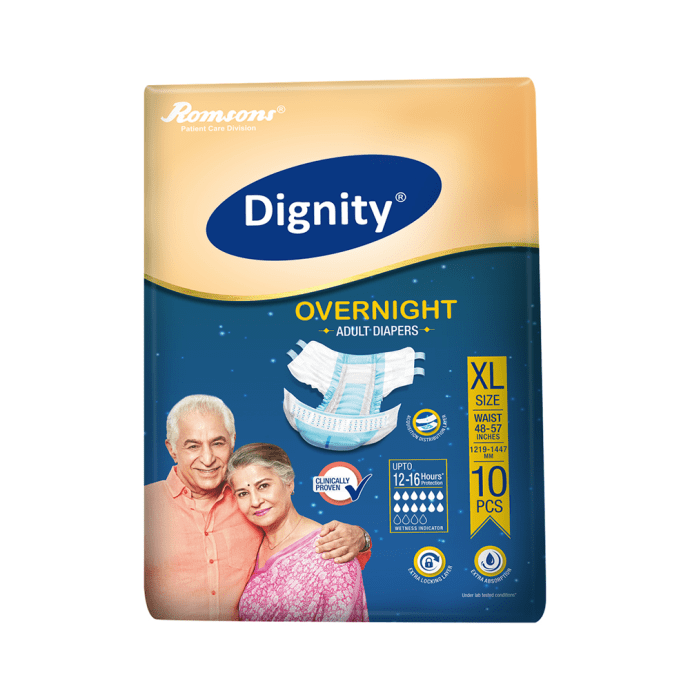 Dignity Overnight Adult Diaper XL