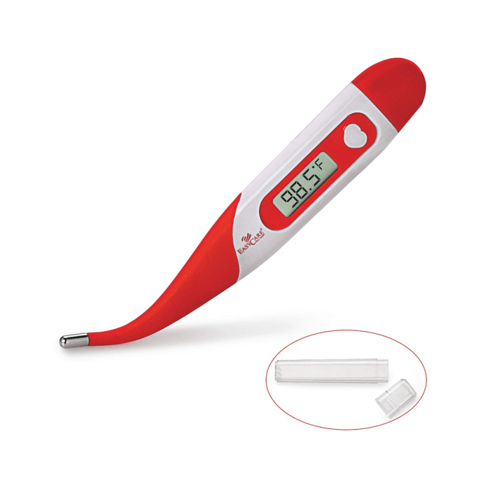 Easy Care EC 5058 Digital Thermometer Flexible Red