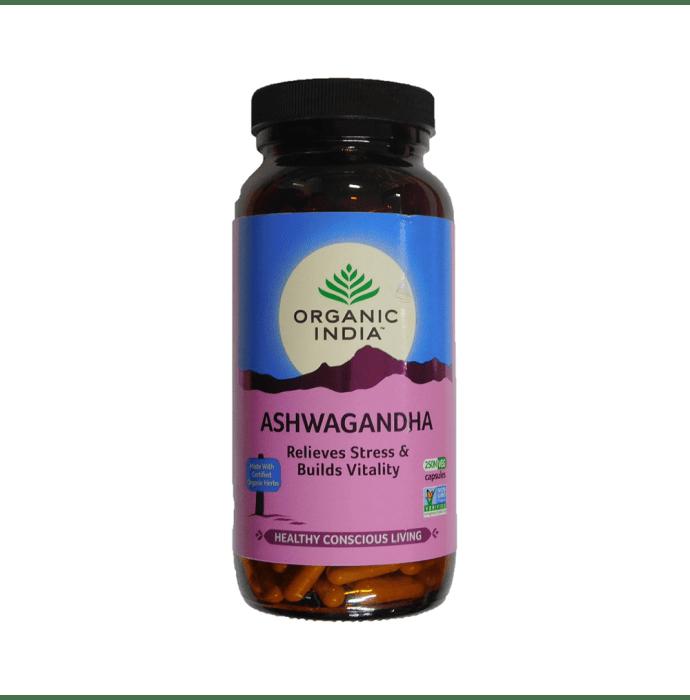 Organic India Ashwagandha    Capsule