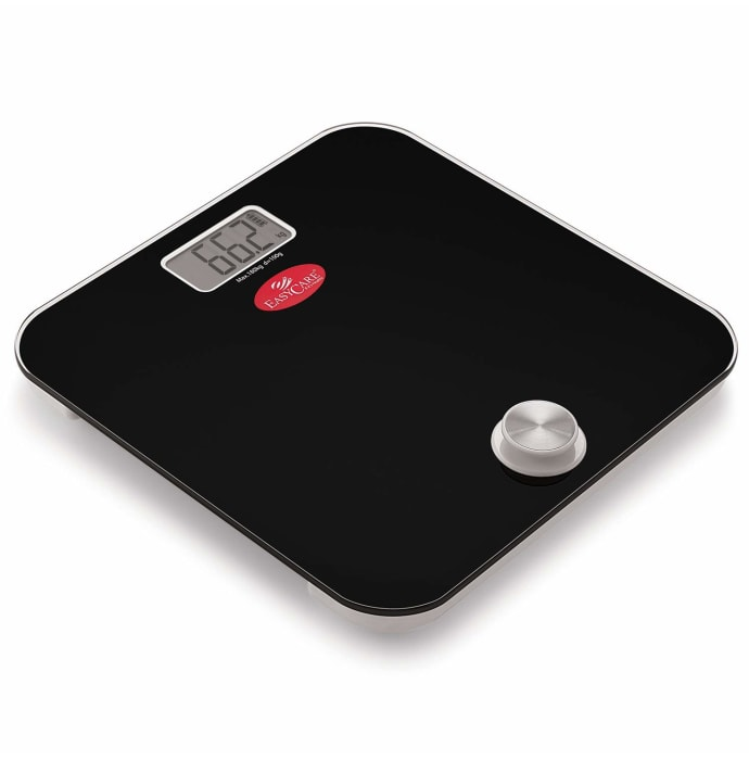 Easy Care EC 3321 Battery Free and One Press to Power Up Weighing Scale Black
