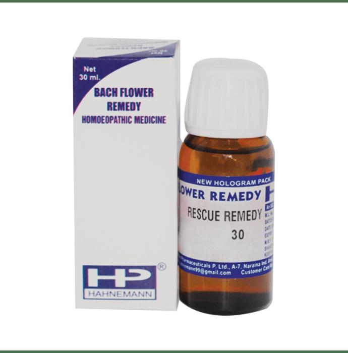 Hahnemann Bach Flower Rescue Remedy 30