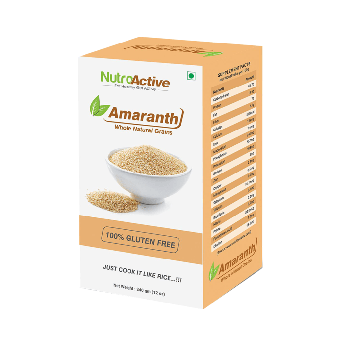 NutroActive Amaranth Whole Natural Grains