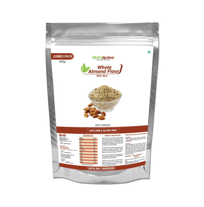 NutroActive Whole Almond Flour with Skin