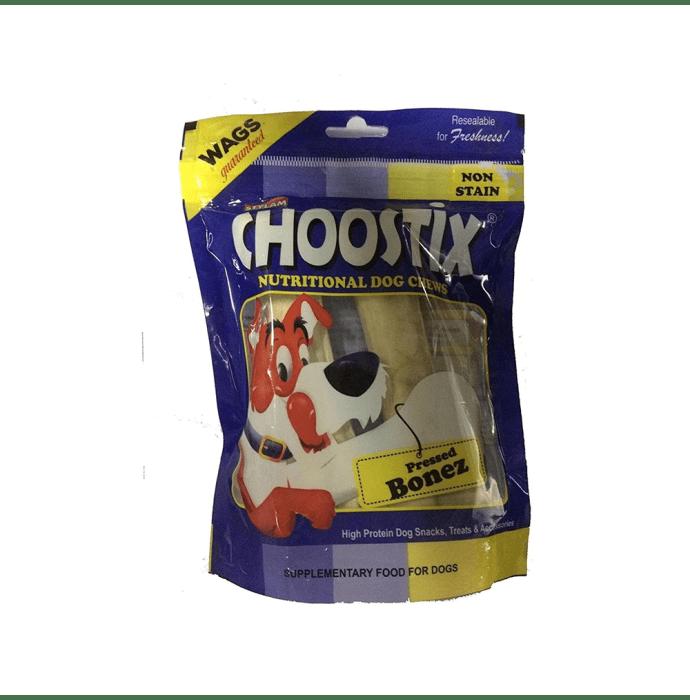 Choostix Pressed Dog Bone (6-inch) M