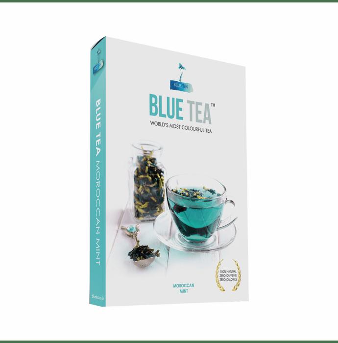 Blue Tea Moroccan Mint