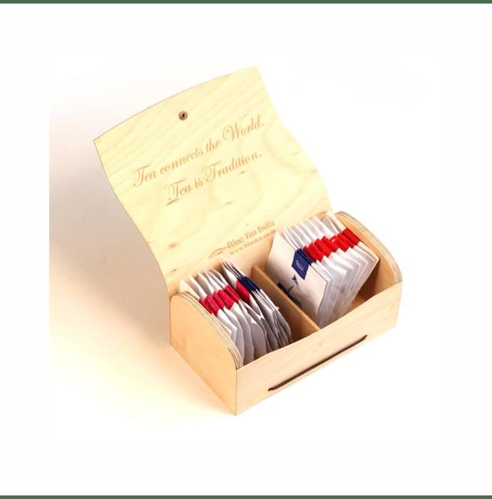 Blue Tea 21 Days Detox Wooden Assorted Gift Pack