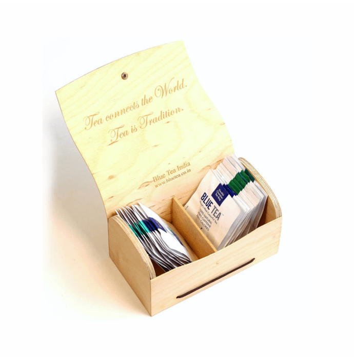 Blue Tea 21 Days Skin Cleanse Wooden Assorted Gift Pack