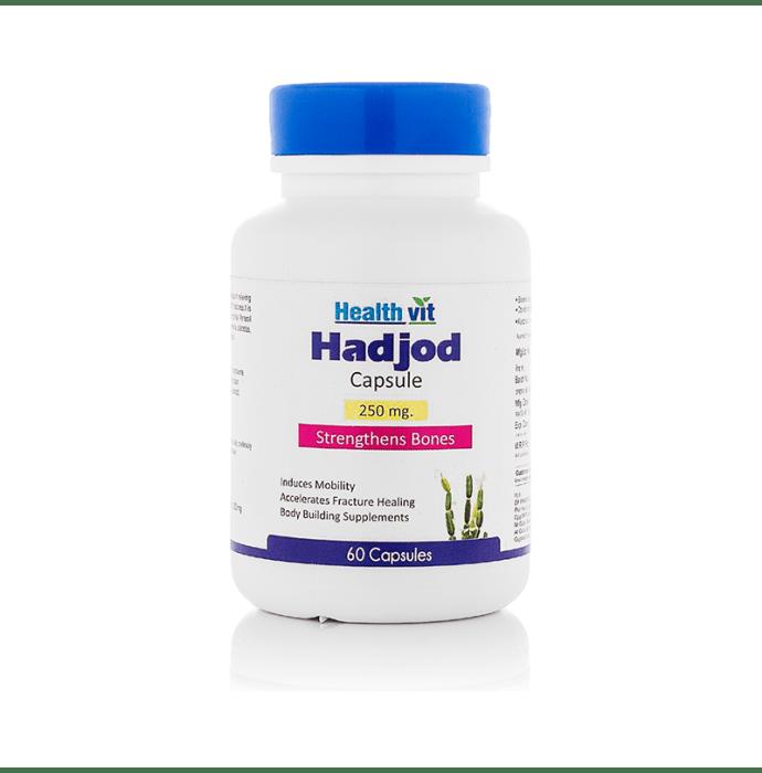 HealthVit Hadjod 250mg Capsule