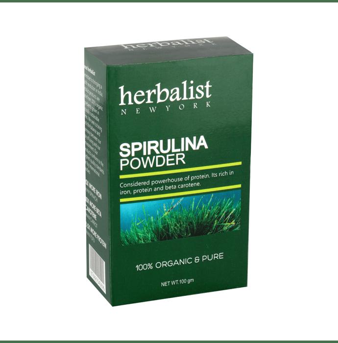 Herbalist Newyork Spirulina (100% Organic & Pure) Powder