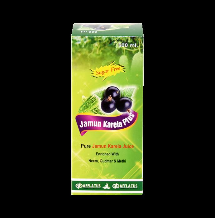 Afflatus Jamun Karela Plus  Juice Sugar Free