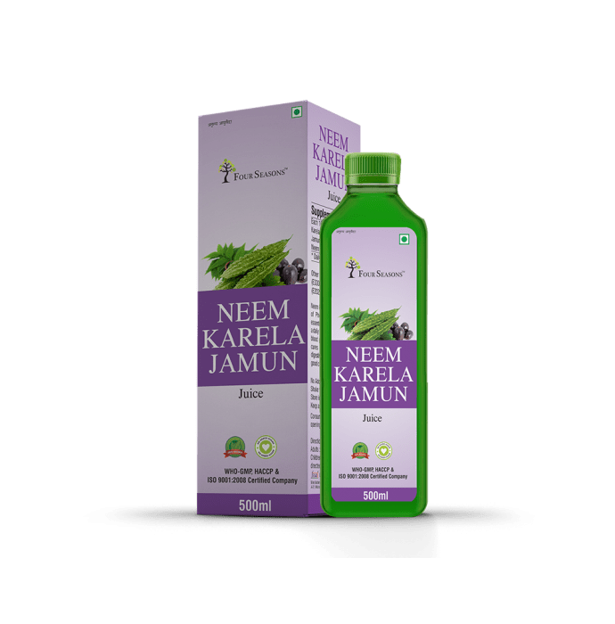 Four Seasons Neem Karela Jamun Juice