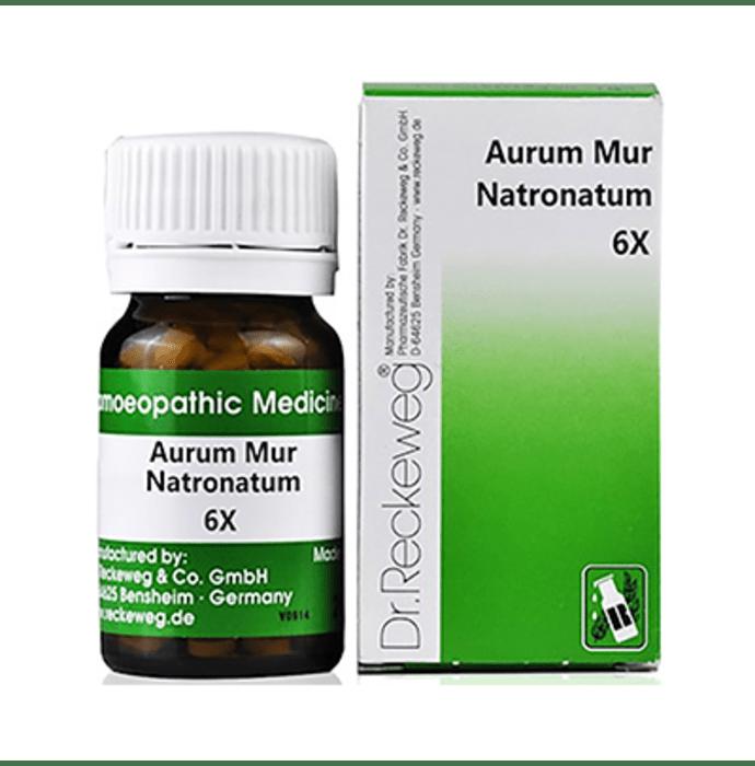 Hapdco Aurum Mur Natronatum Trituration Tablet 6X