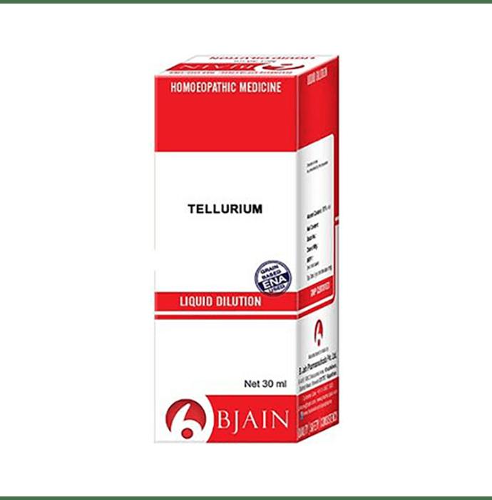Bjain Tellurium Metallicun Dilution 30 CH