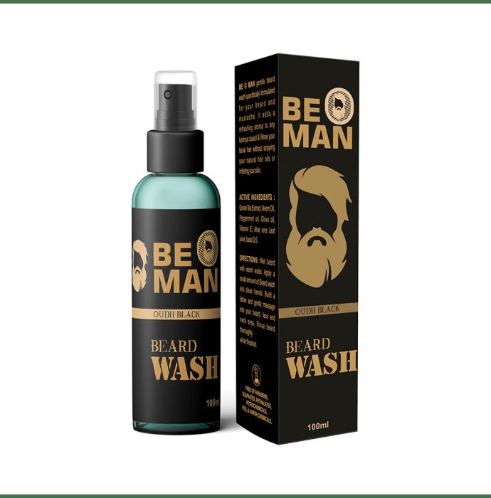 Be O Man Beard Wash Oudh Black