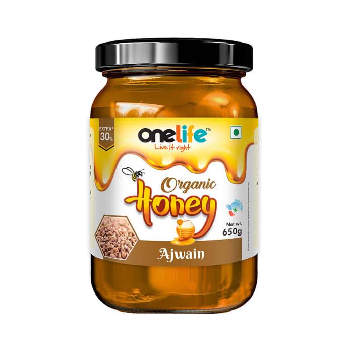 OneLife Organic Ajwain Honey