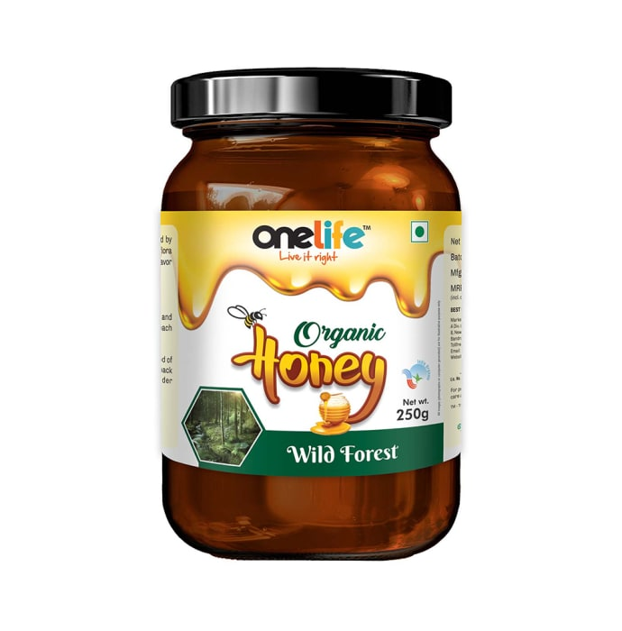 OneLife Organic Honey Wild Forest