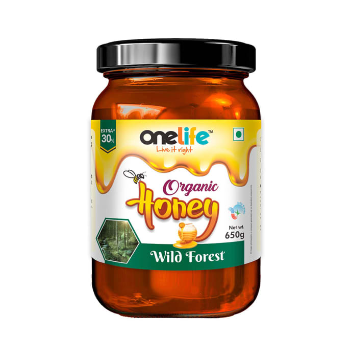 OneLife Organic Honey Wild Forest
