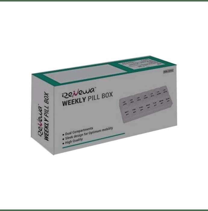 Renewa AM/PM Weekly Pill Box 2 Times
