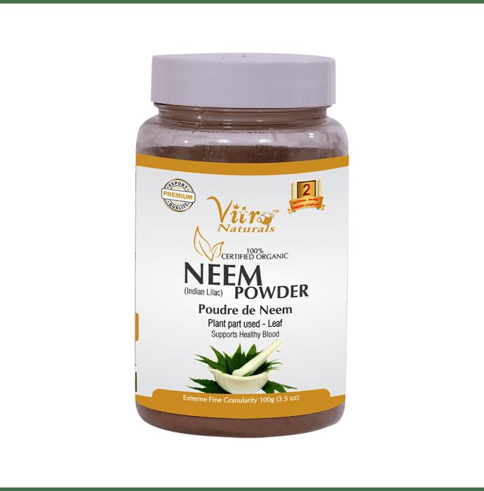 Vitro Naturals 100% Certified Organic Neem Powder