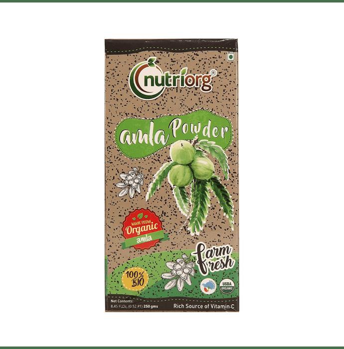 Nutriorg Certified Organic Amla Powder