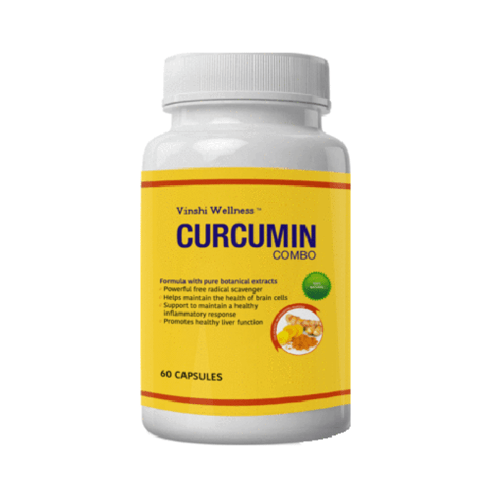 Vinshi Wellness Curcumin Combo Capsule