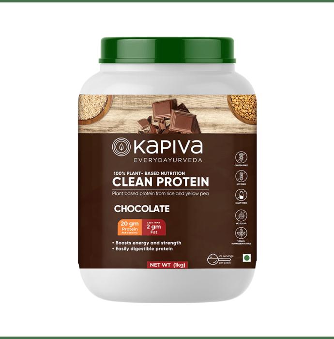 Kapiva Ayurveda Clean Protein Powder Chocolate