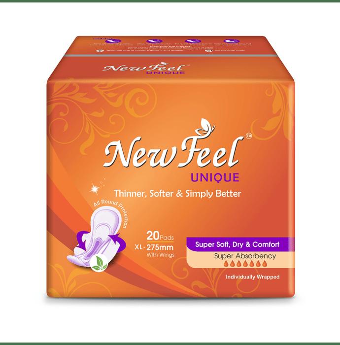 NewFeel Unique Sanitary Napkin XL