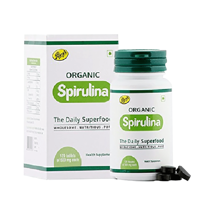 Parry's Organic Spirulina 500mg Tablet