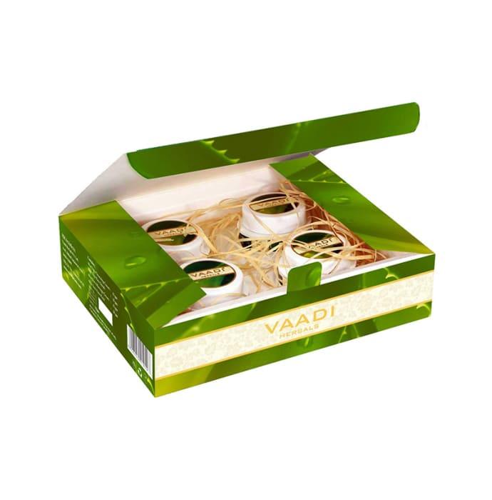 Vaadi Herbals Anti-Acne Aloe Vera Facial Kit with Green Tea Extract 70gm