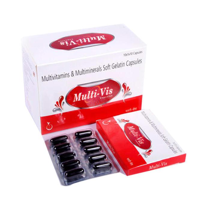 Multivis Soft Gelatin Capsule