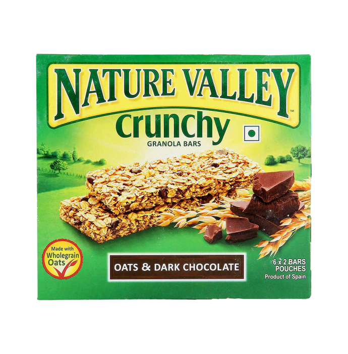 Nature Valley Crunchy Granola Bar (42gm Each) Oats and Dark Chocolate