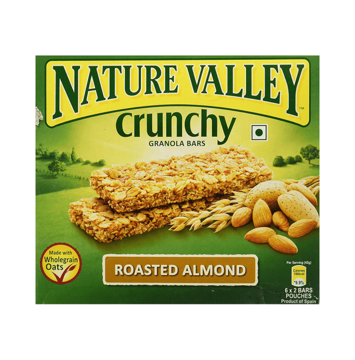 Nature Valley Crunchy Granola Bar (42gm Each) Roasted Almond