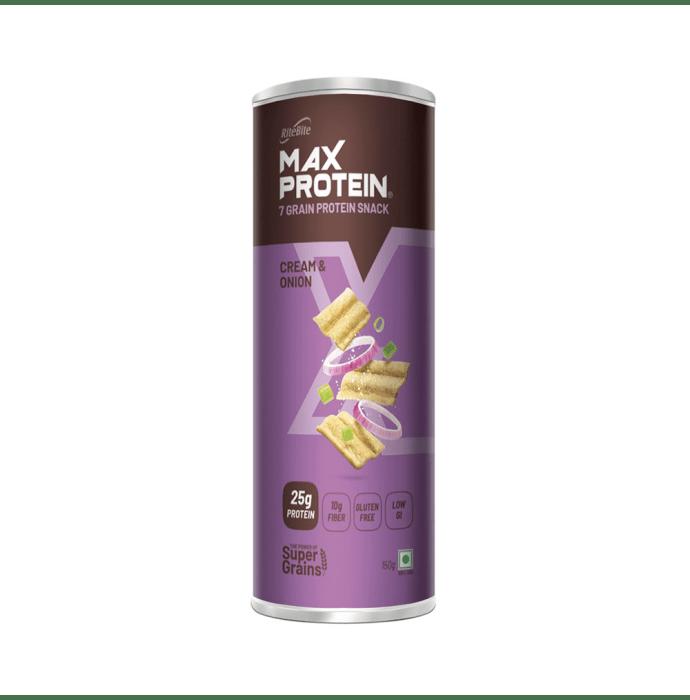 RiteBite Max Protein Chips Cream & Onion