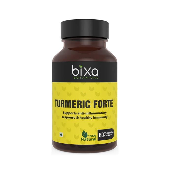 Bixa Botanical Turmeric Forte 95% Curcuminoids 450mg Vegetarian Capsule